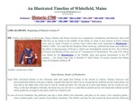 A Whitefield, Maine timeline - Historic - 1700