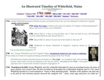 A Whitefield, Maine timeline - 1701 - 1800