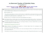 A Whitefield, Maine timeline - 1801 - 1850 by David Chase