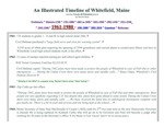 A Whitefield, Maine timeline - 1961 - 1980
