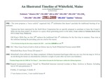 A Whitefield, Maine timeline - 1981 - 2000