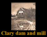Clary Water Mill and dams =- Whitefield, Maine