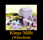 Kings Mills , Whitefield, Maine by David Chase