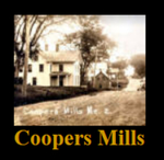 Coopers Mills, Whitefield, Maine by David Chase