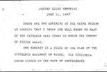 Eulogy for Foster Ellis - June 21, 1997 by James Russell Wiggins