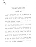 Remarks of James Russell Wiggins at E.B. White Memorial Service, Blue Hill Congregational Church, October 26, 1985