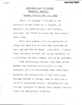 Remarks Prepared for Win Libby Memorial Service, Newman Center, May 11, 1993