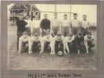 1st Winslow High Football Team 1922