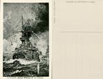 """Passenger Boat """"Kaiser Wilhelm II"""" in Fight"""
