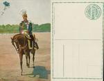 An Officer on Horseback