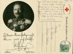 Portrait of Kaiser Wilhelm with Signature