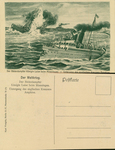 The Steamer Queen Luise Laying Mines - Shipwreck of the English Cruiser Amphion