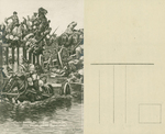 Escape of the Russians after the Battle of Tannenberg on 26 -28 August 1914
