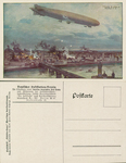 Zeppelin Bombing Warsaw