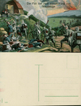 The Fall of the Two First Forts of Maubeuge