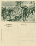 The German Troops Storming Maubeuge