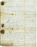 Letter to Maryann Wright from Washington, DC, June 15, 1861