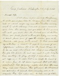 Letter to Maryann Wright from Washington, DC, July 3, 1861