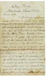 Letter to Maryann Wright, November 8, 1861