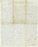 Letter to Maryann Wright, January 3, 1862 by Horace Wright