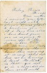 Letter from Lyman Wright to Maryanne Wright, January 2, 1862 by Lyman Wright