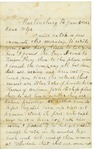 Letter to Maryann Wright, June 5, 1862 by Horace Wright