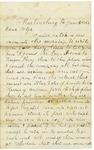 Letter to Maryann Wright, June 5, 1862