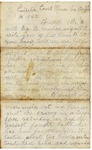 Letter to Maryann Wright, August 14, 1862 by Horace Wright