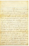 Letter from Maryanne Wright to son Lyman, September 1862