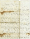 Letter to Maryann and Arabine Wright, November 23, 1862 by Horace Wright