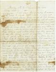 Letter to Maryann and Arabine Wright, November 23, 1862