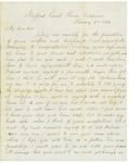 Letter to Lyman Wright, February 4, 1863 by Horace Wright