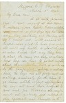 Letter to Lyman Wright, March 1, 1863 by Horace Wright