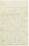 Letter from Maryann Wright to Horace, March 22, 1863 by Maryann Wright