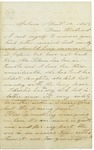 Letter to Horace from Maryann Wright, April 12, 1863 by Maryann Wright