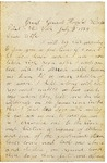 Letter to Maryann Wright, July 3, 1864 by Horace Wright