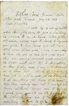 Letter to Arabine Wright, July 22, 1864 by Horace Wright