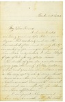 Letter From Laura Brown to Maryann Wright, October 23, 1864