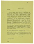 "Letter to ""Dok"" from Gilbert M. Elliott regarding a letter about the work done in Halifax by Gilbert M. Elliott"