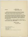 Memorandum regarding recruiting to the National Guard, February 6, 1917