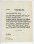 Memorandum regarding assignment of aides, February 21, 1917 by George McL. Presson