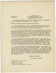 Memorandum regarding mobilization rules, April 25, 1917