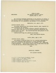 Memorandum regarding the selection of members for attendance at Reserve Officers' Training Camps, May 10, 1917