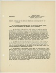 Memorandum regarding calling out the National Guard and recruiting same to war strength, May 23, 1917 by George McL. Presson