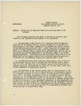 Memorandum regarding calling out the National Guard and recruiting same to war strength, May 23, 1917