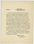 Memorandum regarding the nomination of National Guard members for appointment to the military academy at West Point, October 1, 1917